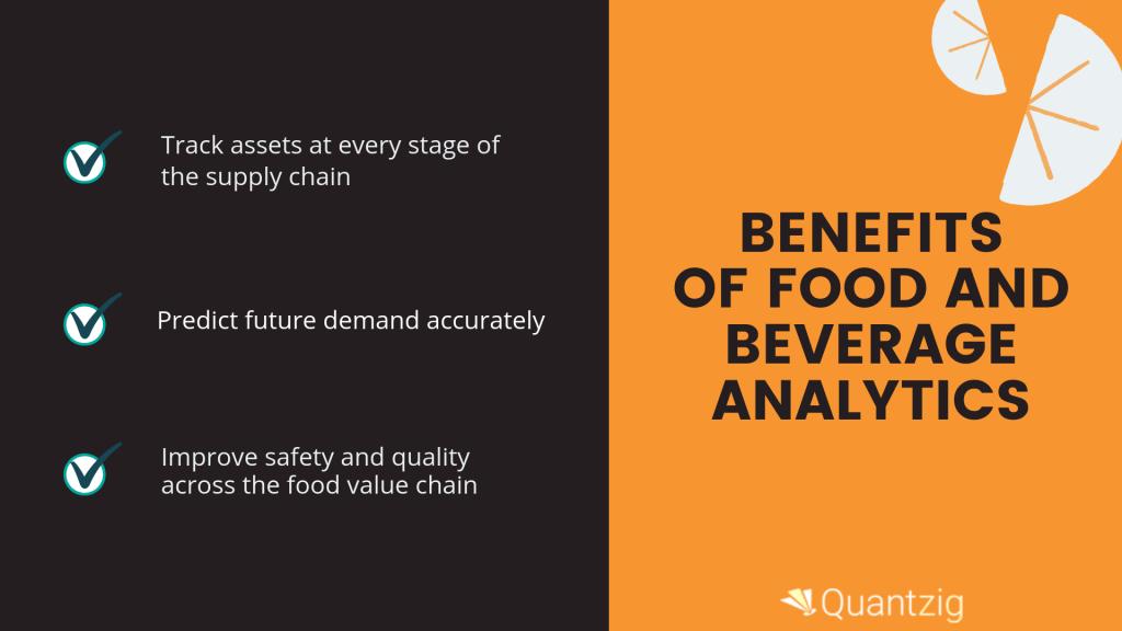Food and beverage analytics